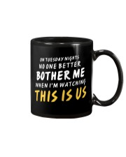 No One Better Bother Me - Front Mug thumbnail