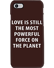 Love Is The Most Powerful - Front Phone Case thumbnail