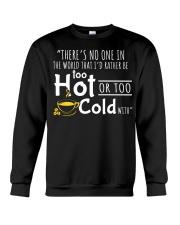 Too Hot - Front Crewneck Sweatshirt thumbnail