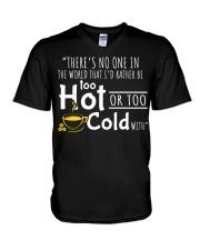 Too Hot - Front V-Neck T-Shirt thumbnail