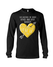 Not Lose It - Front Long Sleeve Tee thumbnail