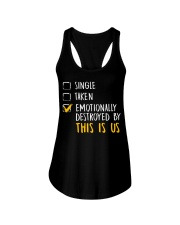 Emotionally Destroyed By This Is Us - Front Ladies Flowy Tank thumbnail