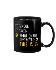 Emotionally Destroyed By This Is Us - Front Mug thumbnail