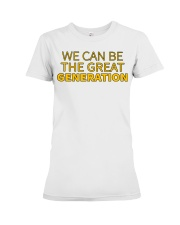 The Great Generation - Front Premium Fit Ladies Tee front