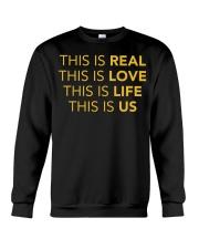 This Is Real - Front Crewneck Sweatshirt thumbnail