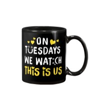 On Tuesday We Watch This Is Us - Front Mug thumbnail