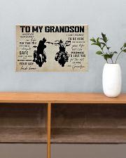 Poster To grandpaSon Biker 17x11 Poster poster-landscape-17x11-lifestyle-24