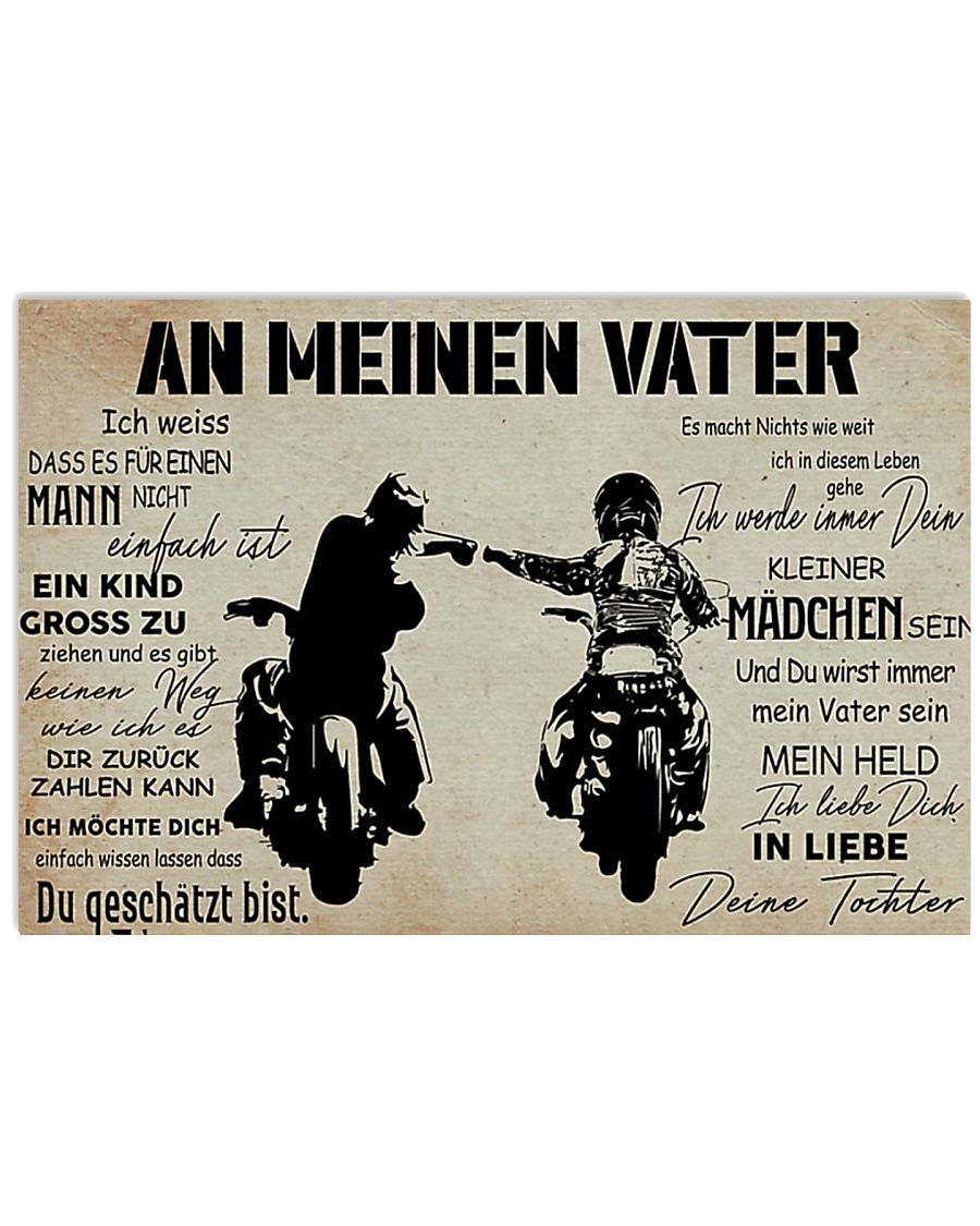 AnMeinenVaterTochter 17x11 Poster