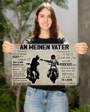 AnMeinenVaterTochter 17x11 Poster poster-landscape-17x11-lifestyle-19