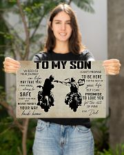 Poster To Son Biker 17x11 Poster poster-landscape-17x11-lifestyle-19