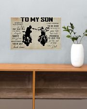 Poster To Son Biker 17x11 Poster poster-landscape-17x11-lifestyle-24