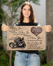 I Choose You biker 17x11 Poster poster-landscape-17x11-lifestyle-19