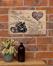 I Choose You biker 17x11 Poster poster-landscape-17x11-lifestyle-23