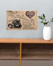 I Choose You biker 17x11 Poster poster-landscape-17x11-lifestyle-24
