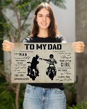 Poster To My Dad Daughter 17x11 Poster poster-landscape-17x11-lifestyle-19