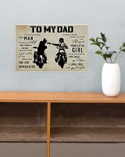 Poster To My Dad Daughter 17x11 Poster poster-landscape-17x11-lifestyle-24