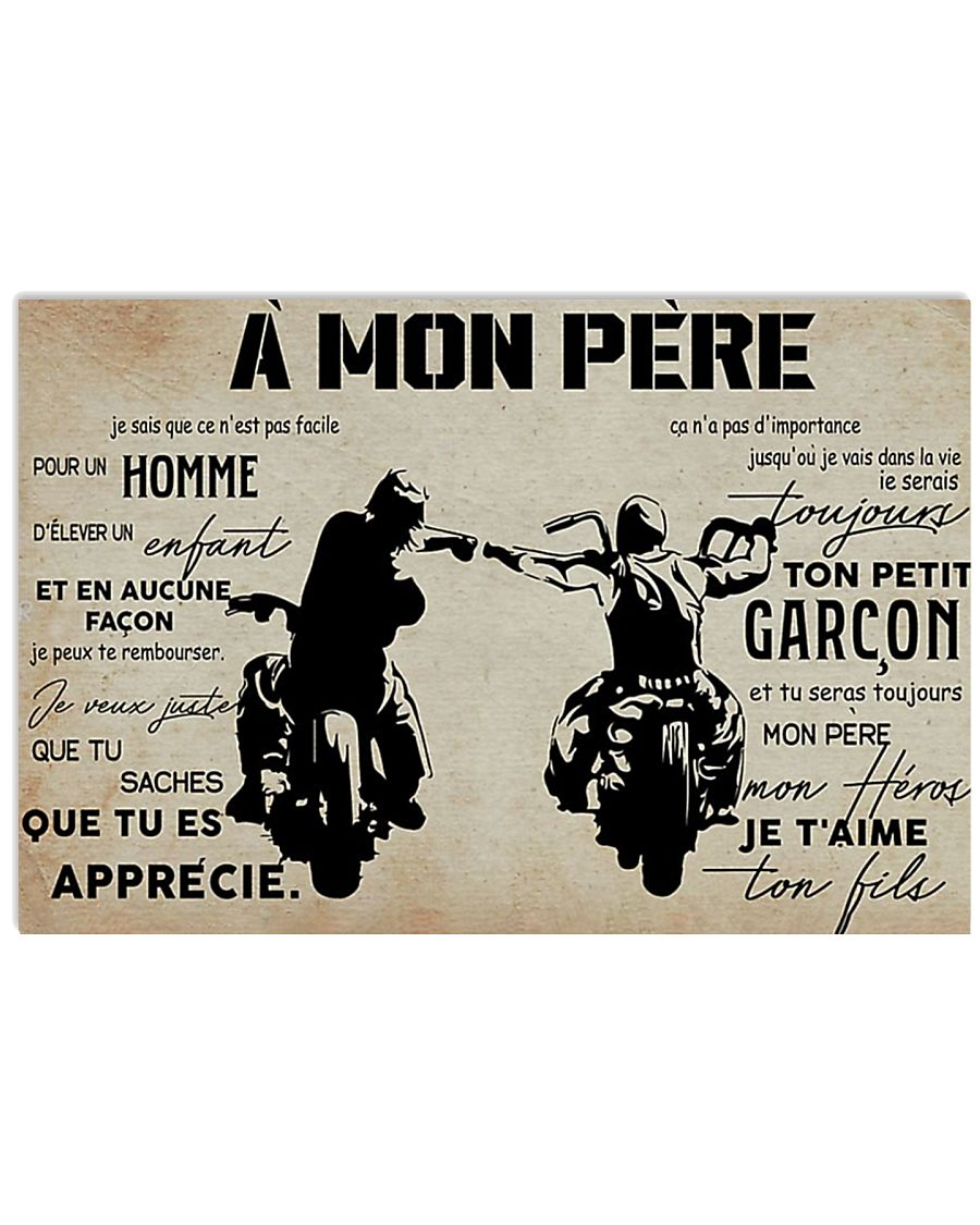 AMonPerePoster 17x11 Poster