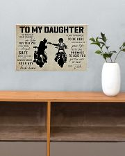 Poster To Daughter Biker 17x11 Poster poster-landscape-17x11-lifestyle-24