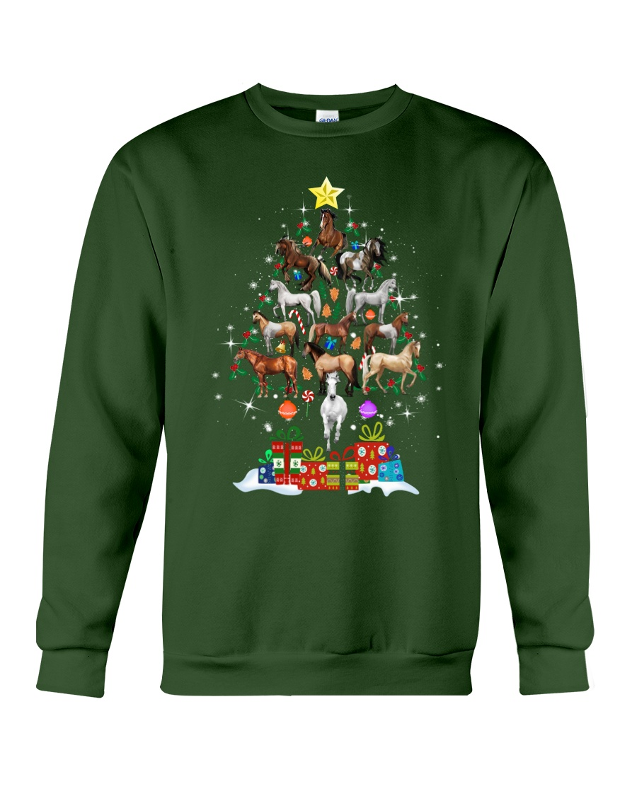 A Perfect Christmas 2018 Gift For Horse Lovers Crewneck Sweatshirt