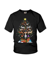 A Perfect Christmas 2018 Gift For Horse Lovers Youth T-Shirt thumbnail
