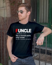 Funcle Like A Normal Uncle Classic T-Shirt lifestyle-mens-crewneck-front-2