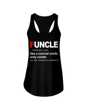 Funcle Like A Normal Uncle Ladies Flowy Tank thumbnail