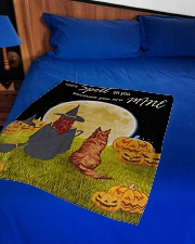 "I put a spell on you because you are mine blanket Small Fleece Blanket - 30"" x 40"" aos-coral-fleece-blanket-30x40-lifestyle-front-02"