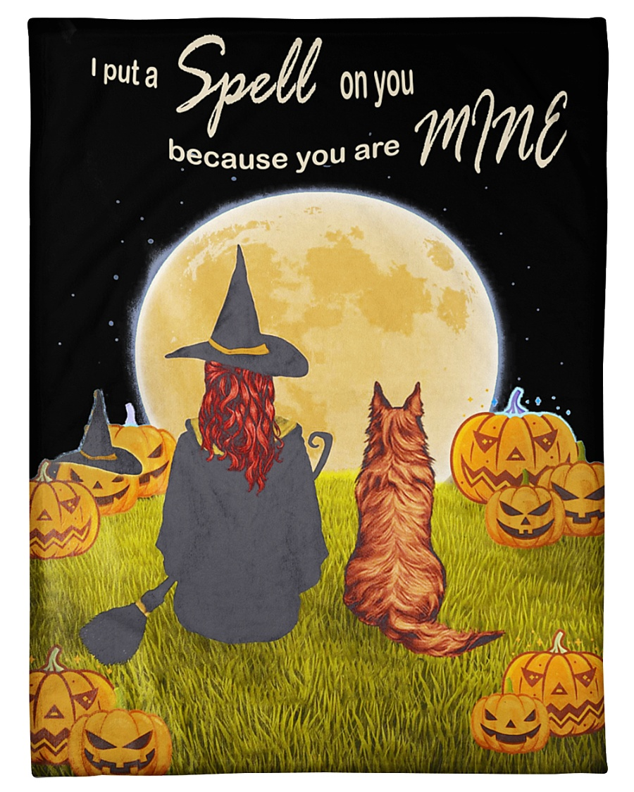 "I put a spell on you because you are mine blanket Small Fleece Blanket - 30"" x 40"""