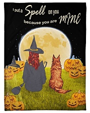 "I put a spell on you because you are mine blanket Small Fleece Blanket - 30"" x 40"" front"