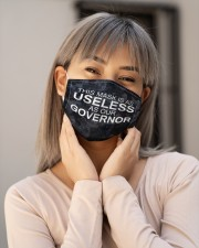 This mask is as useless as our governor face mask Cloth face mask aos-face-mask-lifestyle-17