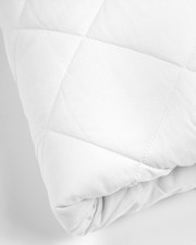 Custom name his side her side quilt bed set  Twin Quilt Bed Set aos-king-quilt-bed-closeup-front-02