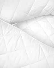 Custom name his side her side quilt bed set  Twin Quilt Bed Set aos-king-quilt-bed-closeup-front-03