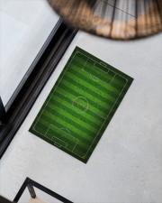 """Football Field For Football Lover Doormat Doormat 34"""" x 23"""" aos-doormat-34-x-23-lifestyle-front-08"""