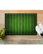 """Football Field For Football Lover Doormat Doormat 34"""" x 23"""" aos-doormat-34-x-23-lifestyle-front-12"""