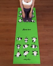 Yoga Panda Pose Yoga Mat Yoga Mat 24x70 (vertical) aos-yoga-mat-lifestyle-24