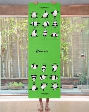 Yoga Panda Pose Yoga Mat Yoga Mat 24x70 (vertical) aos-yoga-mat-lifestyle-27