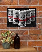 Presidents For Ransom Canvas Print 17x11 Poster poster-landscape-17x11-lifestyle-23