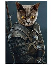 Funny Cat Warrior Poster 11x17 Poster front