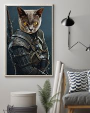 Funny Cat Warrior Poster 11x17 Poster lifestyle-poster-1