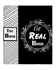 The boss the real boss quit bed set  Quilt tile