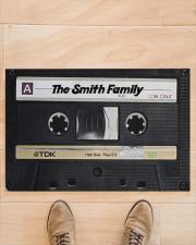 """Custom cassette tape doormat Doormat 22.5"""" x 15""""  aos-doormat-22-5x15-lifestyle-front-02"""
