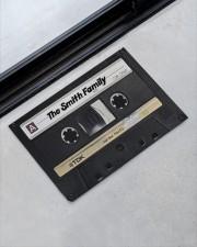 """Custom cassette tape doormat Doormat 22.5"""" x 15""""  aos-doormat-22-5x15-lifestyle-front-09"""