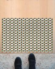 """Construction Brick 3d doormat Doormat 34"""" x 23"""" aos-doormat-34-x-23-lifestyle-front-10"""