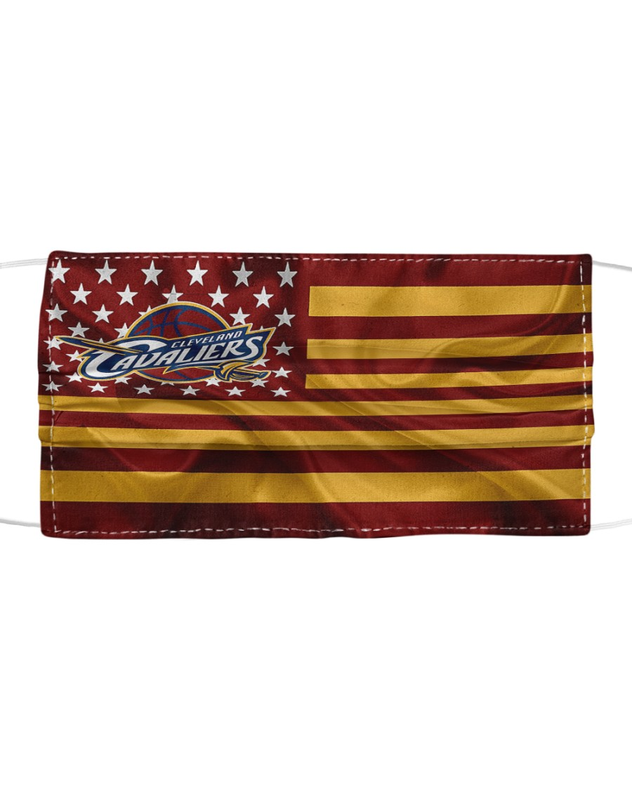 Cleveland Cavaliers NBA American flag face mask Cloth face mask