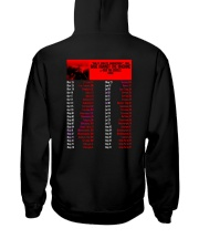 RAGE AGAINST THE MACHINE 2020 TOUR T Shirt Hooded Sweatshirt back