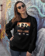 price of fame sean price AND lil fame t shirt Crewneck Sweatshirt lifestyle-unisex-sweatshirt-front-3