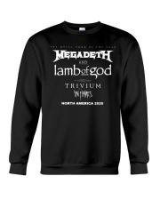 Megadeth And Lamb Of God Tour 2020 T Shirt Crewneck Sweatshirt thumbnail
