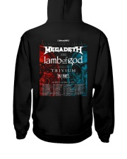 Megadeth And Lamb Of God Tour 2020 T Shirt Hooded Sweatshirt back
