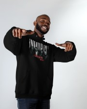 Aventura Inmortal Tour 2020 T Shirt Hooded Sweatshirt apparel-hooded-sweatshirt-lifestyle-front-12