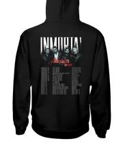Aventura Inmortal Tour 2020 T Shirt Hooded Sweatshirt back